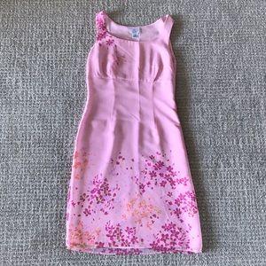 Ann Taylor Pink Floral Sundress Size 2